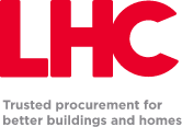 LHC Logo - Trusted procurement for better buildings and homes